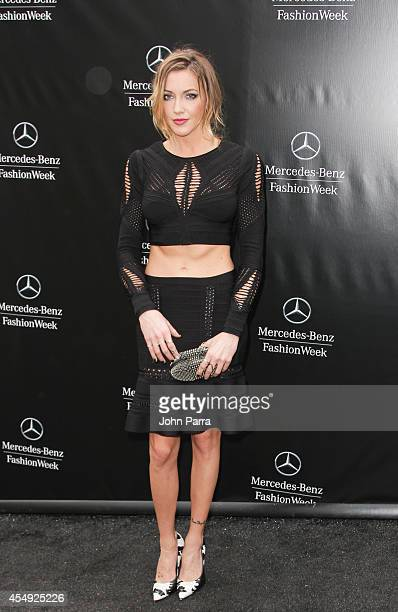 Katie Cassidy seen during MercedesBenz Fashion Week Spring 2015>> at Lincoln Center for the Performing Arts on September 6 2014 in New York City