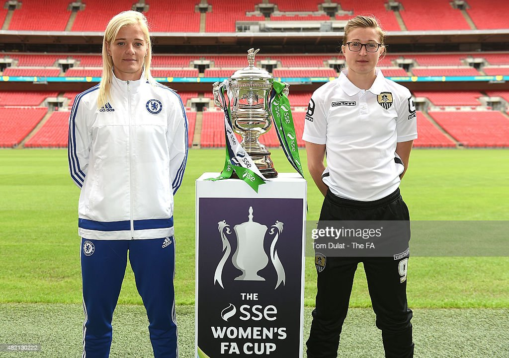 SSE Women's Cup Final Media Day : News Photo