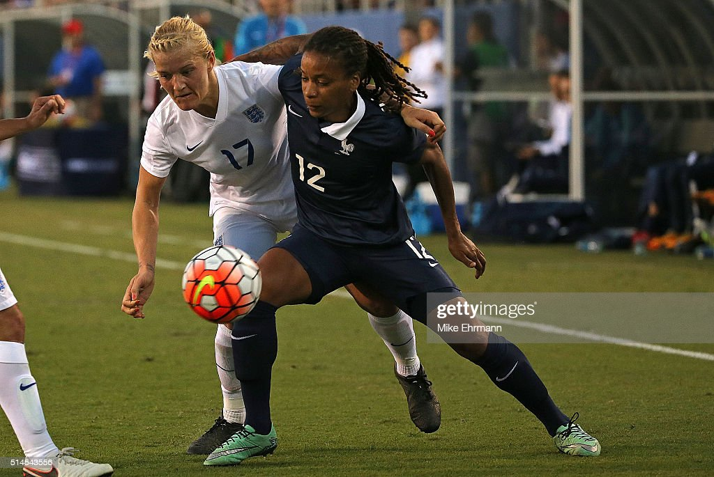 2016 SheBelieves Cup - France v England