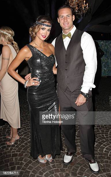 Katie Cleary and Andrew Stern attend the 4th annual Face Forward LA Gala at Fairmont Miramar Hotel on September 28, 2013 in Santa Monica, California.