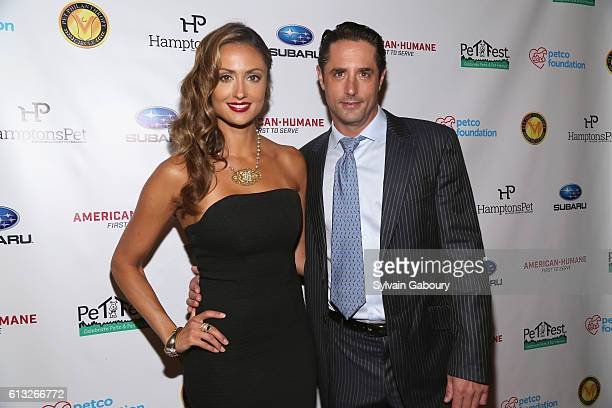Katie Cleary and Prince Lorenzo Borghese attend Pet Philanthropy Circle's 5th Pet Hero Awards at Gotham Hall on October 7 2016 in New York City