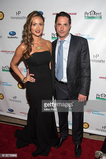 Katie Cleary and Prince Lorenzo Borghese attend the 2016 Pet Hero Awards at Gotham Hall on October 7 2016 in New York City