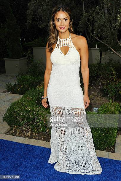 Katie Cleary arrives at Mercy For Animals Presents Hidden Heroes Gala 2016 at Vibiana on September 10 2016 in Los Angeles California