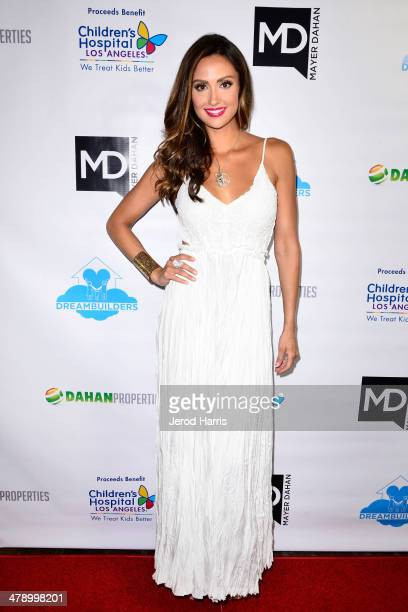 Katie Cleary arrives at the Dream Builders Project's 'A Brighter Future For Children' benefit at HOME on March 15 2014 in Beverly Hills California