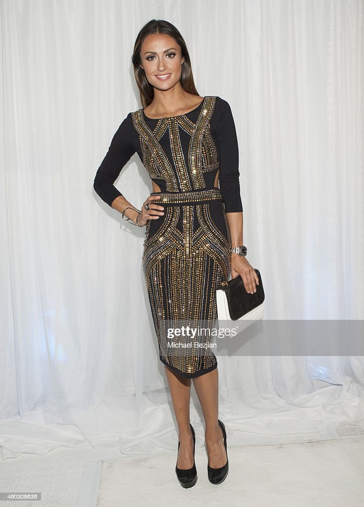 Katie Cleary attends 1st Annual Runway Wonderland Children's Benefit By Trina's Kids Foundation at Hubble Studio on December 10, 2014 in Los Angeles, California.