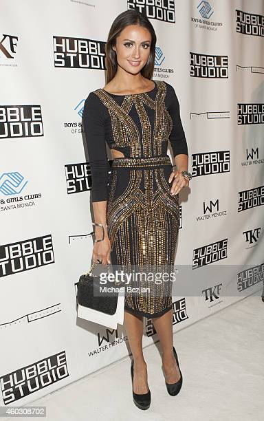 Katie Cleary attends 1st Annual Runway Wonderland Children's Benefit By Trina's Kids Foundation at Hubble Studio on December 10 2014 in Los Angeles...
