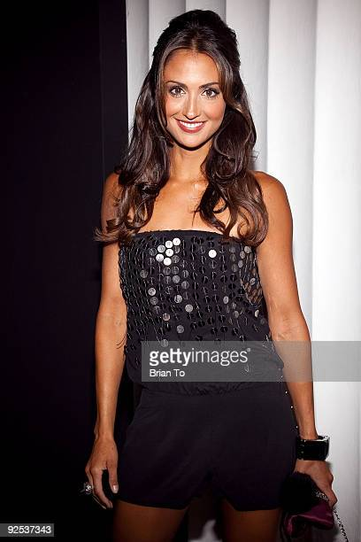 Katie Cleary attends Mi6 Nightclub Grand Opening Party on September 15 2009 in West Hollywood California