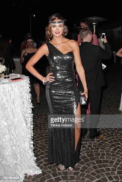 Katie Cleary attends the 4th annual Face Forward LA Gala at Fairmont Miramar Hotel on September 28, 2013 in Santa Monica, California.