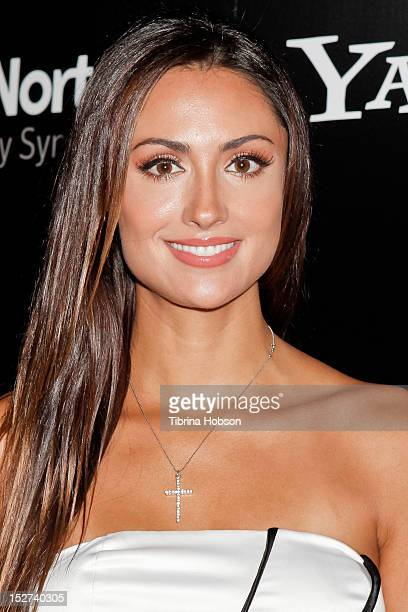 Katie Cleary attends the 'Cybergeddon' Los Angeles premiere at Pacfic Design Center on September 24 2012 in West Hollywood California