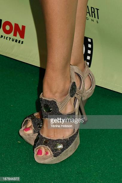 Katie Cleary attends the Delhi Safari Los Angeles premiere at Pacific Theatre at The Grove on December 3 2012 in Los Angeles California