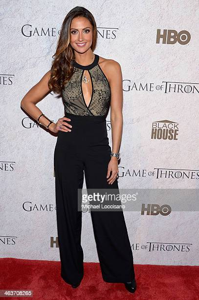 Katie Cleary attends the HBO And Blackhouse Foundation 'Game Of Thrones' Sundance Soiree on January 18 2014 in Park City Utah