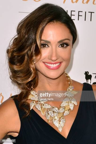 Katie Cleary attends the Humane Society of the United States 60th Anniversary Benefit Gala at The Beverly Hilton Hotel on March 29 2014 in Beverly...
