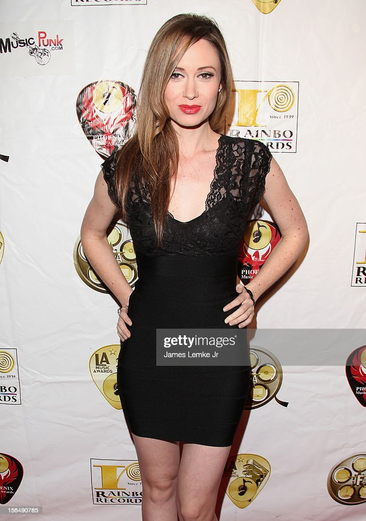 Katie Cole attends the 22nd Annual LA Music Awards held at the Avalon on November 15, 2012 in Hollywood, California.