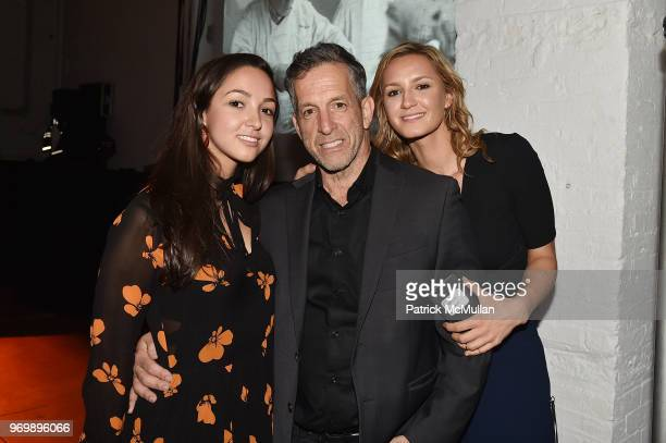 Katie Cole Kenneth Cole and Amanda Cole attend the HELP USA Heroes Awards Gala at the Garage on June 4 2018 in New York City