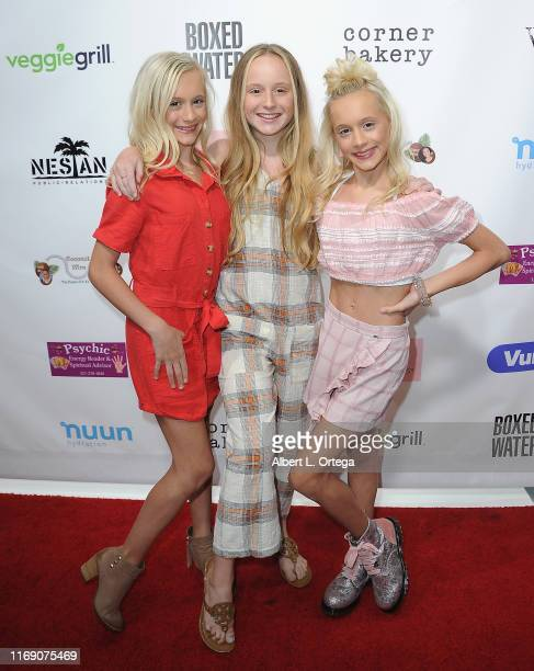 Katie Couch Mackenzie Couch and Kameron Couch attend Singer Will B's 17th Birthday Party held at Starwest Studios on August 17 2019 in Burbank...
