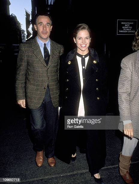Katie Couric and husband Jay Monahan during Premiere of The Nutcracker November 21 1993 in New York City New York United States