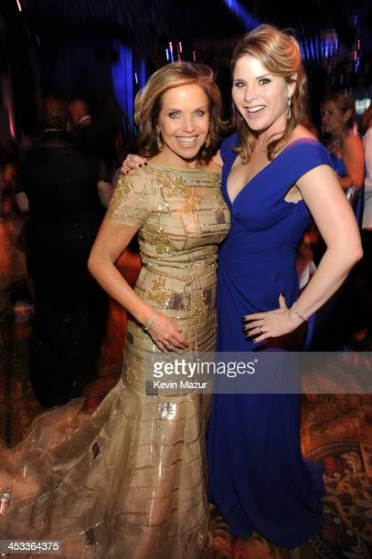 Katie Couric and Jenna Bush Hager attend The Ninth Annual UNICEF Snowflake Ball at Cipriani Wall Street on December 3 2013 in New York City