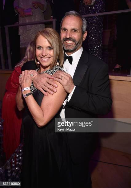 Katie Couric and John Molner attend 2017 Time 100 Gala at Jazz at Lincoln Center on April 25 2017 in New York City