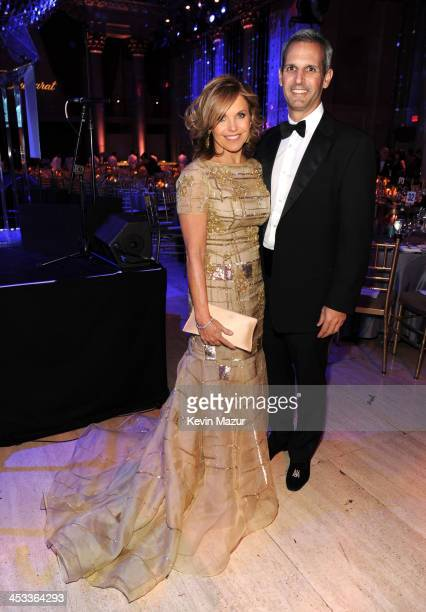 Katie Couric and John Molner attend The Ninth Annual UNICEF Snowflake Ball at Cipriani Wall Street on December 3 2013 in New York City