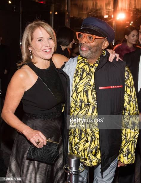 "Katie Couric and Spike Lee attend the opening of CMX CineBistro with special screenings of ""BlacKkKlansman,"" ""City Lights,"" & ""Pretty Baby"" at CMX..."