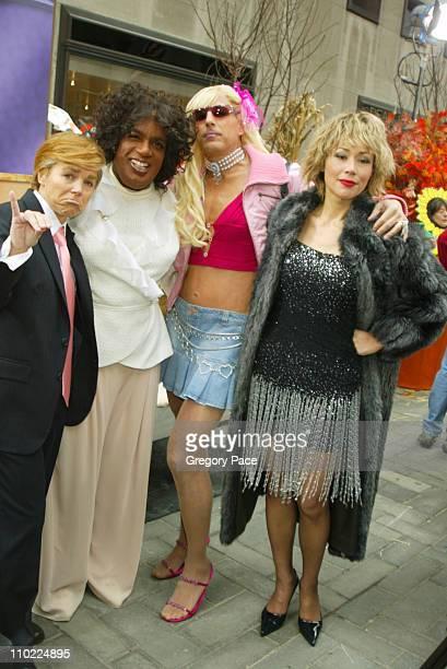 Katie Couric as Donald Trump Al Roker as Oprah Winfrey Matt Lauer as Paris Hilton and Ann Curry as Tina Turner