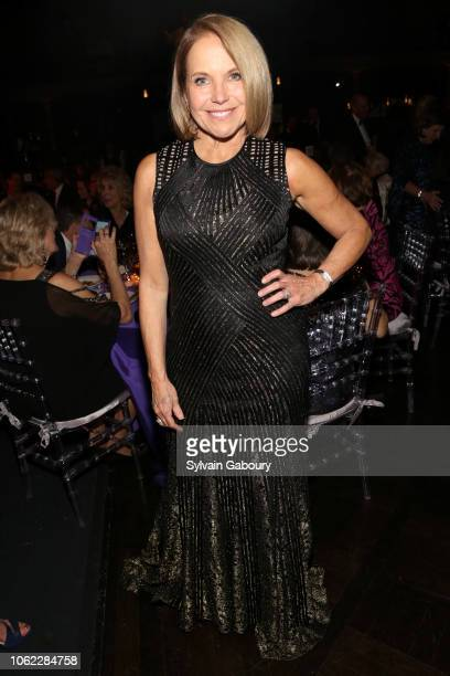 Katie Couric attends American Museum Of Natural History's 2018 Museum Gala at American Museum of Natural History on November 15 2018 in New York City