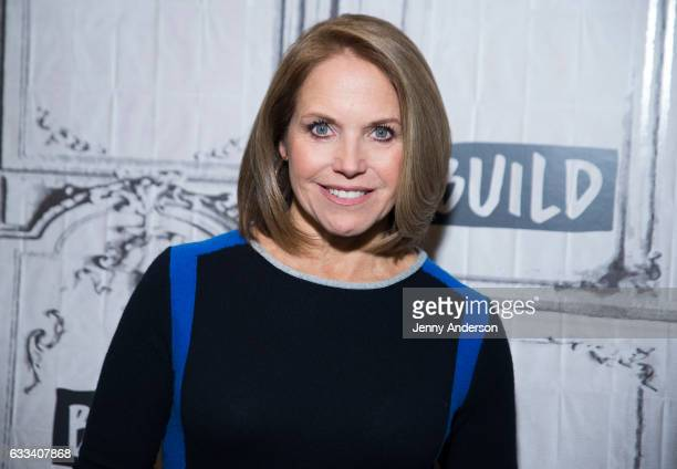 Katie Couric attends AOL Build Series at Build Studio on February 1 2017 in New York City