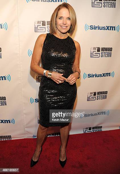 Katie Couric attends 'Howard Stern's Birthday Bash' Presented By SiriusXM Produced By Howard Stern Productions at Hammerstein Ballroom on January 31...