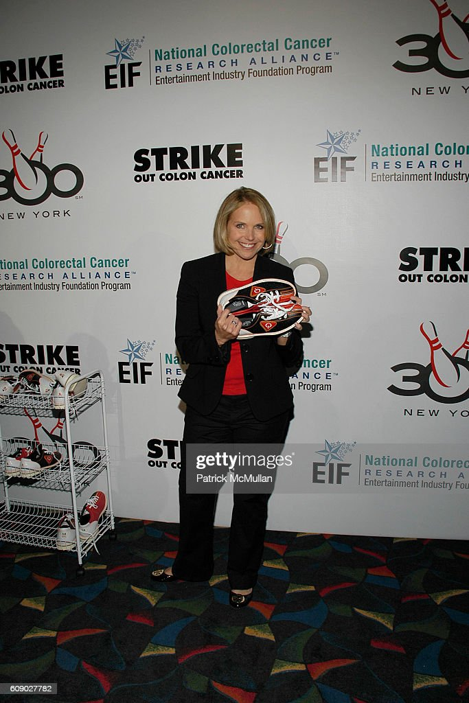 Katie Couric Attends Katie Couric 300 New York Bowl To Strike Out News Photo Getty Images