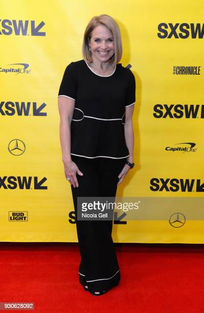 Katie Couric attends Katie Couric podcast LIVE The Muslim Next Door during SXSW at Austin Convention Center on March 11 2018 in Austin Texas