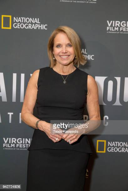 Katie Couric attends National Geographic's screening of America Inside Out with Katie Couric on April 4 2018 at the Paramount Theater in...