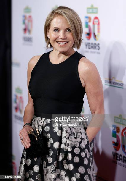 Katie Couric attends Sesame Workshop's 50th Anniversary Benefit Gala at Cipriani Wall Street on May 29 2019 in New York City