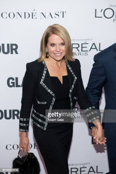 Katie Couric attends the 2017 Glamour Women of The Year Awards at Kings Theatre on November 13 2017 in New York City
