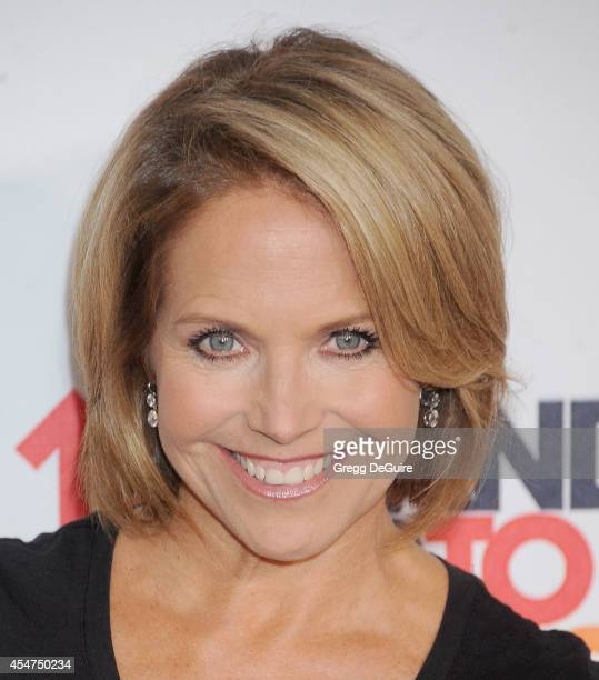 Katie Couric attends the 4th Biennial Stand Up To Cancer A Program of The Entertainment Industry Foundation at Dolby Theatre on September 5 2014 in...