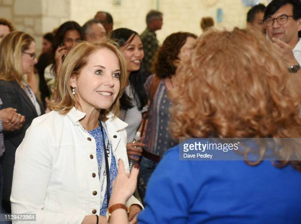 Katie Couric attends the 'Breakthrough' Premiere during the 2019 SXSW Conference and Festivals at Atom Theater at Austin Convention Center on March 9...