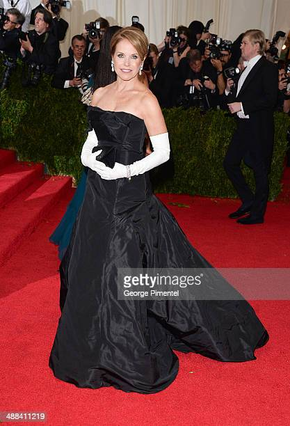 Katie Couric attends the 'Charles James Beyond Fashion' Costume Institute Gala at the Metropolitan Museum of Art on May 5 2014 in New York City