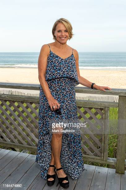 Katie Couric attends the David Lynch Foundation 15th Anniversary at the Bridgehampton Tennis and Surf Club on July 26 2019 in Bridgehampton New York