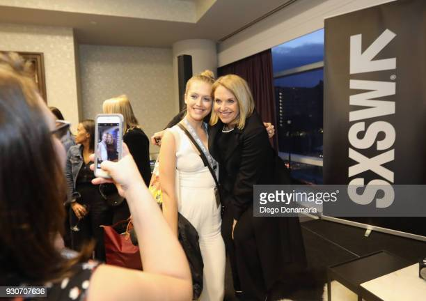 Katie Couric attends the Featured Speaker Connect with Katie Couric during SXSW at Fairmont Austin on March 11 2018 in Austin Texas