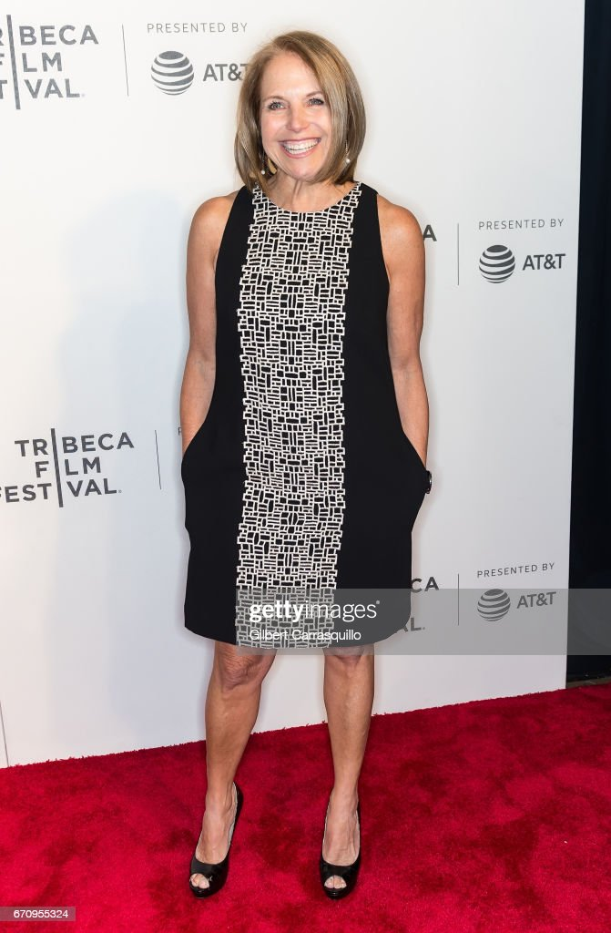 Katie Couric attends the 'Genius' Premiere during the 2017 Tribeca Film Festival at BMCC Tribeca PAC on April 20, 2017 in New York City.