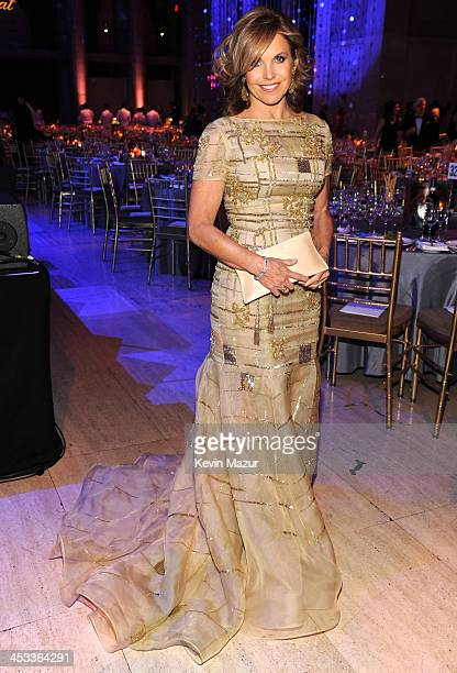 Katie Couric attends The Ninth Annual UNICEF Snowflake Ball at Cipriani Wall Street on December 3 2013 in New York City