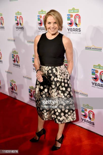 Katie Couric attends the Sesame Workshop's 50th Anniversary Benefit Gala at Cipriani Wall Street on May 29 2019 in New York City