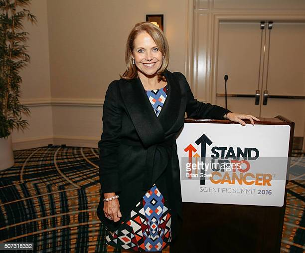 Katie Couric attends the Stand Up To Cancer 2016 Summit at Lowes Santa Monica Hotel on January 27, 2016 in Santa Monica, California.