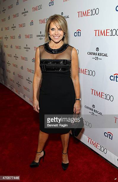 Katie Couric attends the TIME 100 Gala TIME's 100 Most Influential People In The World at Jazz at Lincoln Center on April 21 2015 in New York City