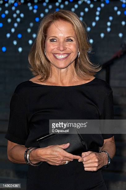 Katie Couric attends the Vanity Fair party during the 2012 Tribeca Film Festival at the State Supreme Courthouse on April 17 2012 in New York City
