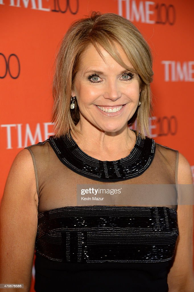 Katie Couric attends TIME 100 Gala, TIME's 100 Most Influential People In The World at Jazz at Lincoln Center on April 21, 2015 in New York City.