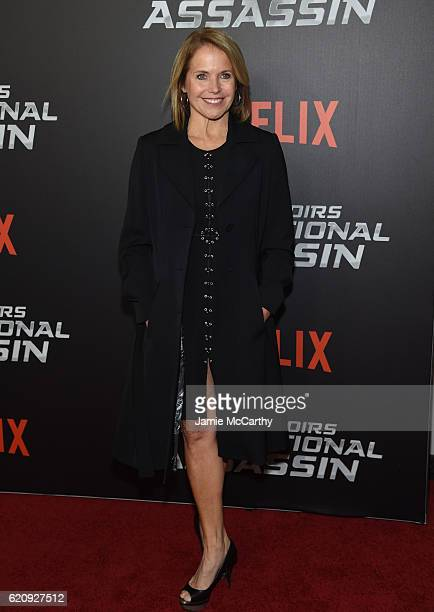 Katie Couric attends True Memoirs Of An International Assassin at AMC Lincoln Square Theater on November 3 2016 in New York City