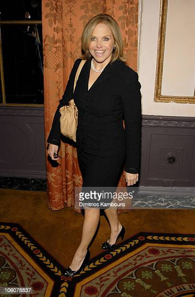 Katie Couric during 2006 Annual Matrix Awards at Waldorf Astoria in New York City New York United States