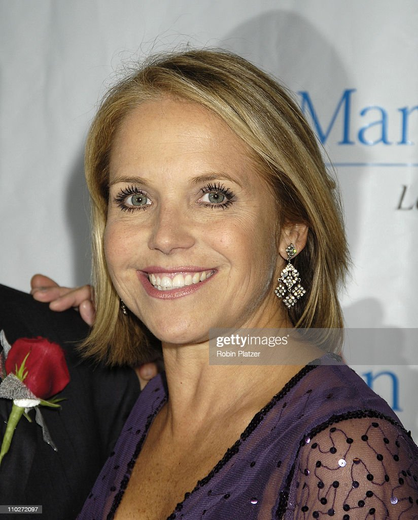 Katie Couric during 30th Annual TJ Martell Foundation Gala at The Marriott Marquis Hotel in New York, New York, United States.