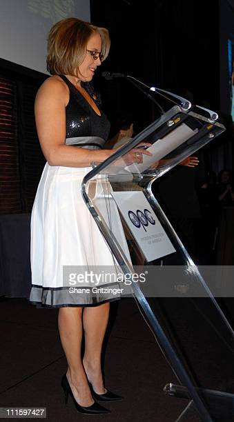 Katie Couric during 68th Annual Overseas Press Club of America Awards Dinner Hosted By Katie Couric at Mandarin Oriental Hotel in New York City New...
