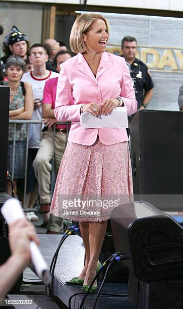 Today Show Concert Series 2020.Katie Couric Today Pictures And Photos Getty Images
